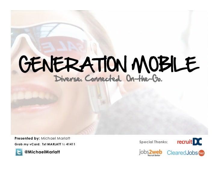 Michael Marlatt's recruitDC Generation Mobile-12.2.10