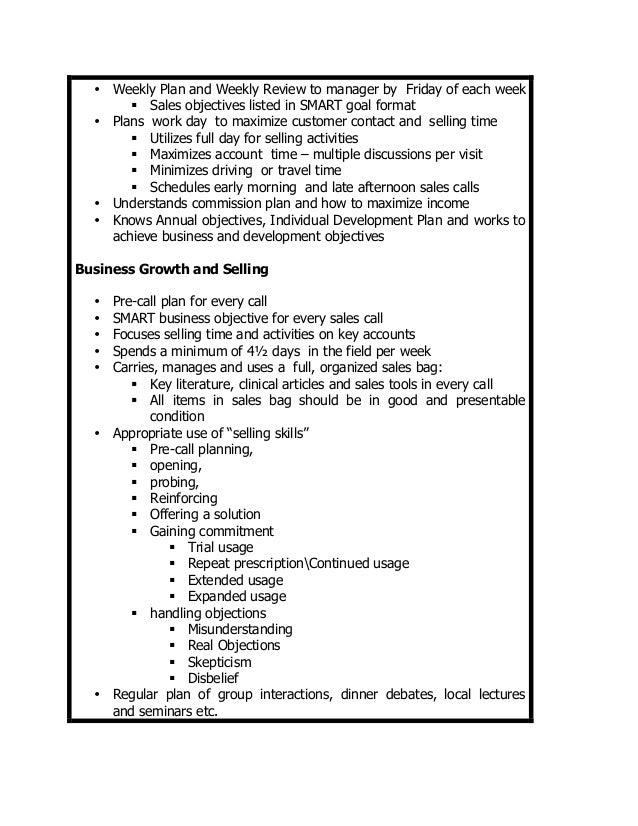 pharmaceutical salesman job description