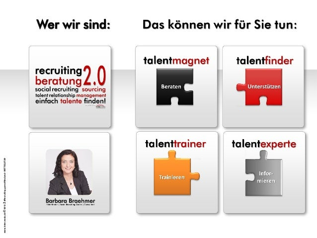 Social Recruiting -  Recruiting Goes  Neuland