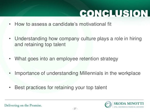 Four factors that affect an organisations approach to talent