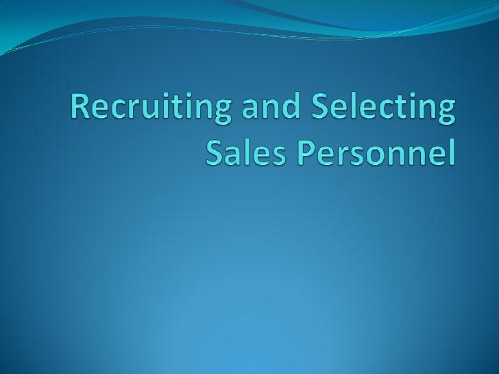 SHRM   Sales human resource management refers to activities    undertaken to attract, develop and maintain effective    s...