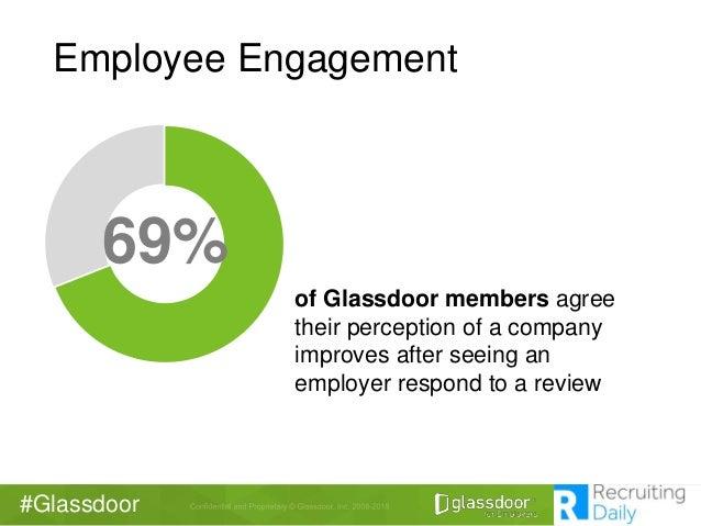 Glassdoor Employee Engagement 69 Of