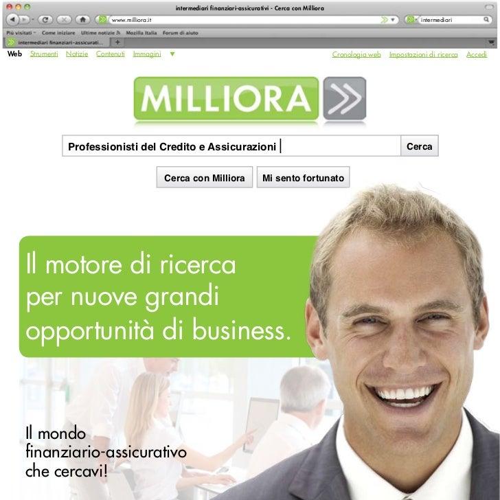 intermediari finanziari-assicurativi - Cerca con Milliora                                 www.milliora.it                 ...