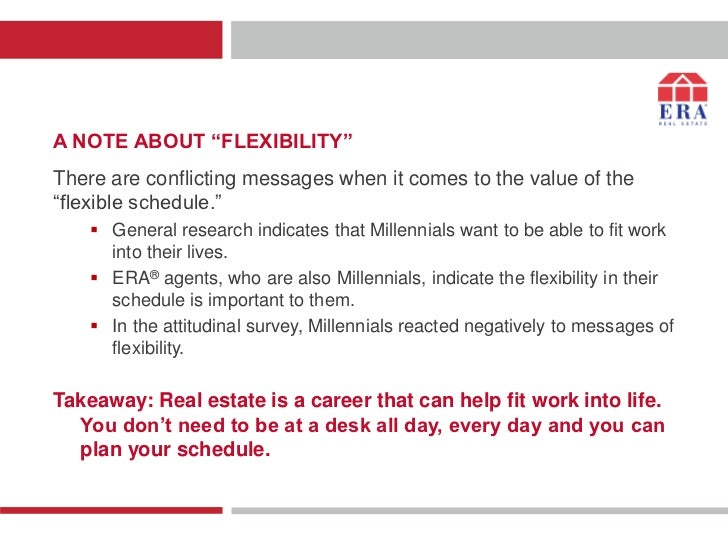 """A NOTE ABOUT """"FLEXIBILITY""""There are conflicting messages when it comes to the value of the""""flexible schedule.""""     Genera..."""