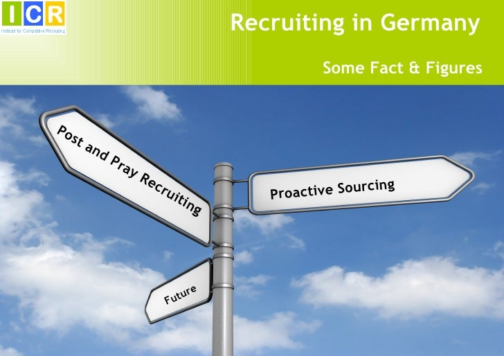 Recruiting in Germany                                                    Some Fact & FiguresPo   st        an             ...