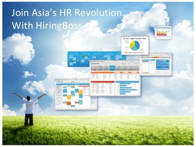 Join Asia's HR Revolution…With HiringBoss