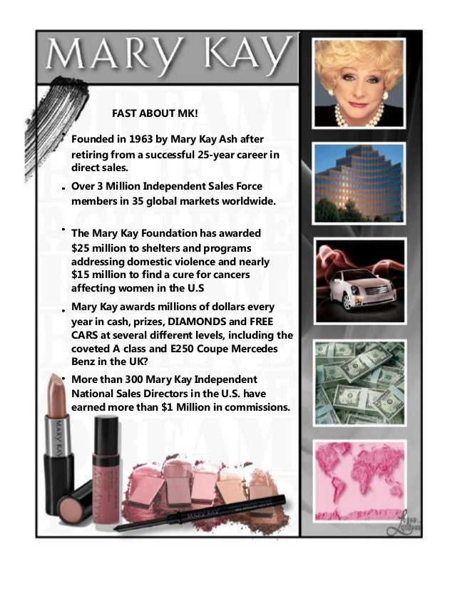 Start Something Beautiful With Mary Kay Cosmetics