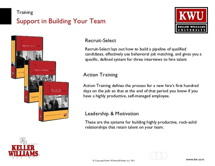 Training Support in Building Your Team Recruit-Select Recruit-Select lays out how to build a pipeline of qualified candida...