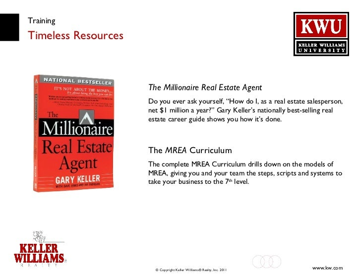 """Training Timeless Resources The Millionaire Real Estate Agent Do you ever ask yourself, """"How do I, as a real estate salesp..."""