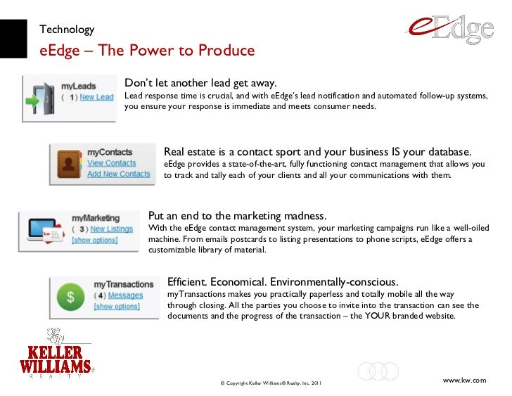 Technology eEdge – The Power to Produce Don't let another lead get away. Lead response time is crucial, and with eEdge's l...