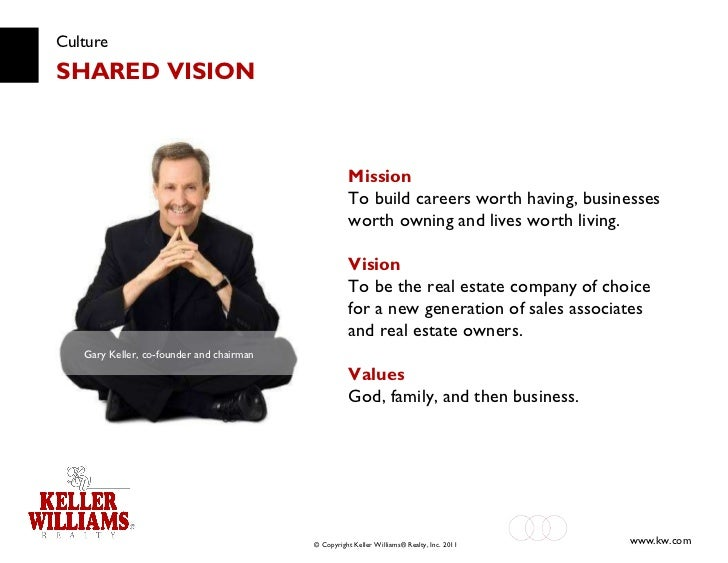 Culture SHARED VISION Mission To build careers worth having, businesses worth owning and lives worth living. Vision To be ...