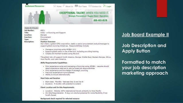 Digital marketing jobs, recruiter for staffing agency job