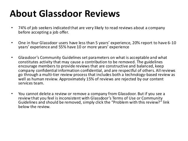 Recruit Like A Marketer How To Become A Top Employer On Glassdoor