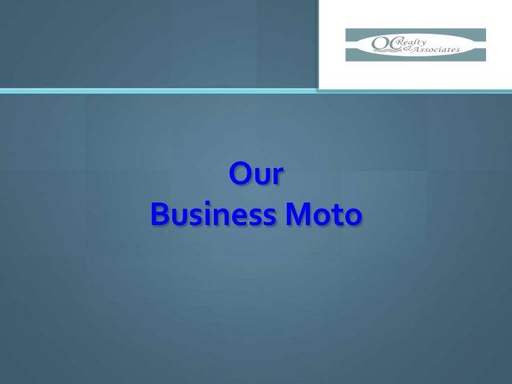 OurBusiness Moto