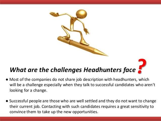 Job recruiter head hunter