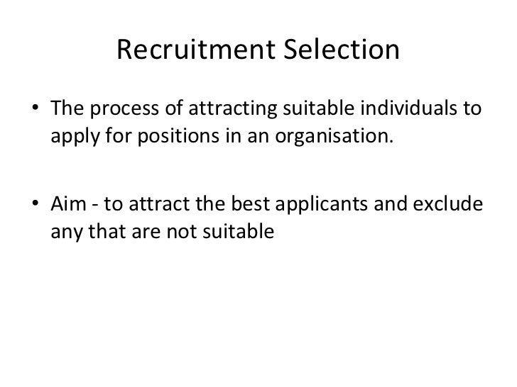 questionnaire for recruitment and selection Recruitment and selection feedback form   please complete the recruitment questionnaire in part 1 of this form.