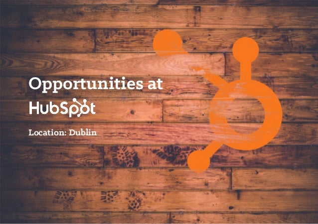 Opportunities at Location: Dublin