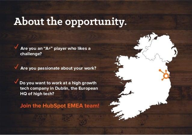 EMEA Recruiting: Opportunities at HubSpot Slide 2