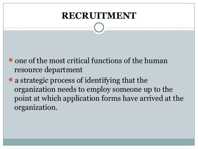 Recruitment -hrd 2 report (1) Slide 2