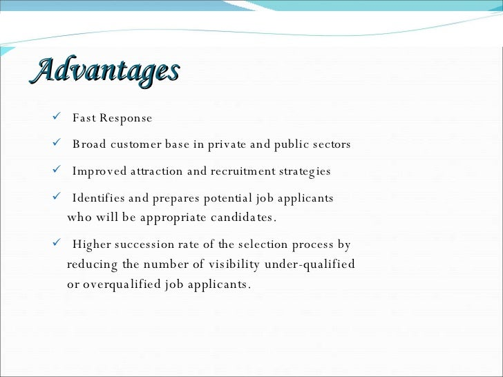 advantages and disadvantages of psychometric tests Intelligence test can be administered individually or in group distinction between  individual  advantages and disadvantages of individual tests: advantages.