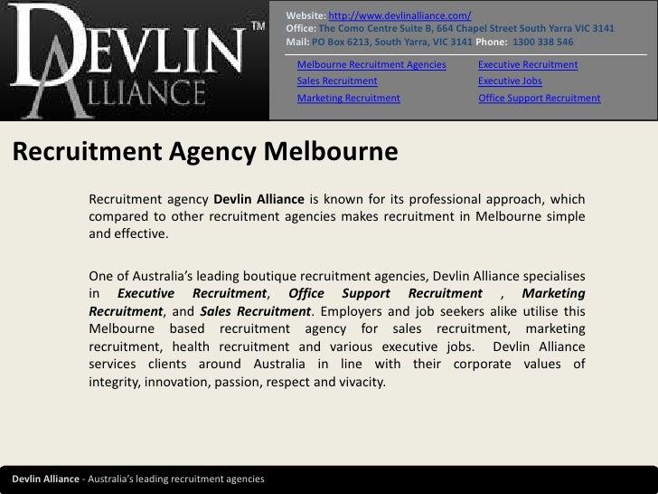 Website: http://www.devlinalliance.com/                                                             Office: The Como Centr...