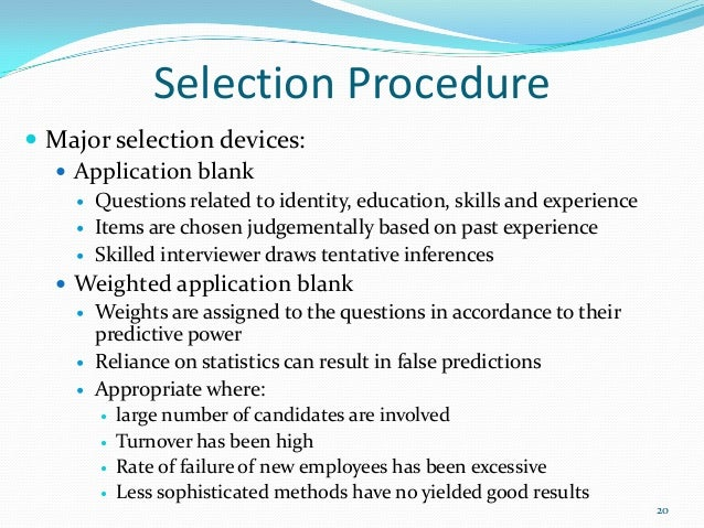 recruitment  selection An Investigation Into The High Turnover Of Employees