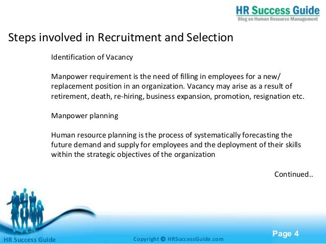 recruitment and selection 4 essay Read this essay on 3rto and retaining a diverse workforce • describe at least 3 factors that affect an organisation's approach to recruitment and selection.