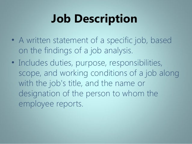 an analysis of the method and requirements of recruitment and selection of accountants Job analysis and selection- validity and reliability ch 3  the legal requirements for job analysis and employee  to develop a new selection method based on the.