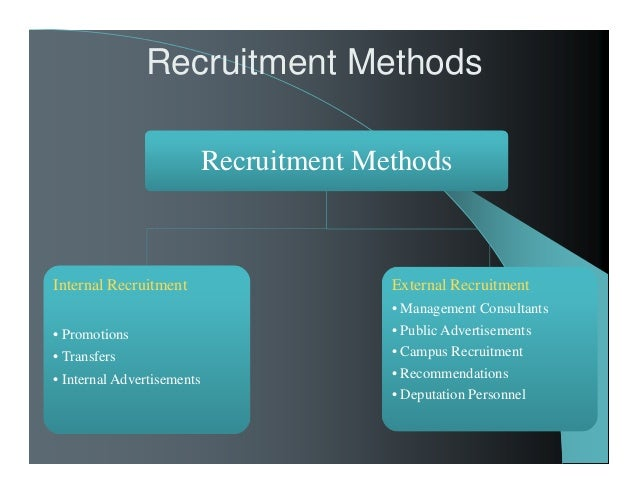 recruitment and selection strategies recommendations Recruitment and selection reema  management recommendations are used to recruit  besides the differences in their recruitment strategy,.