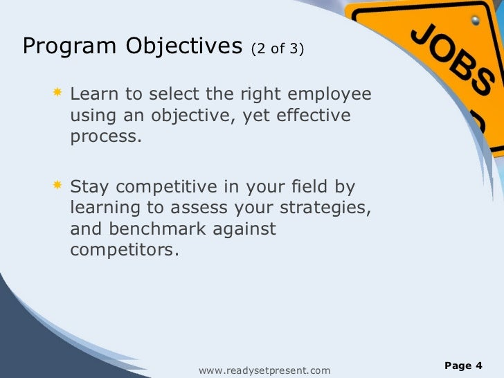 Recruitment And Selection Powerpoint Presentation