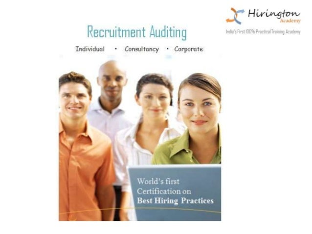 Recruitment Auditing About Vijay Anand (Head Mentor) Has an overall 15 plus years of experience in the Recruitment Industr...