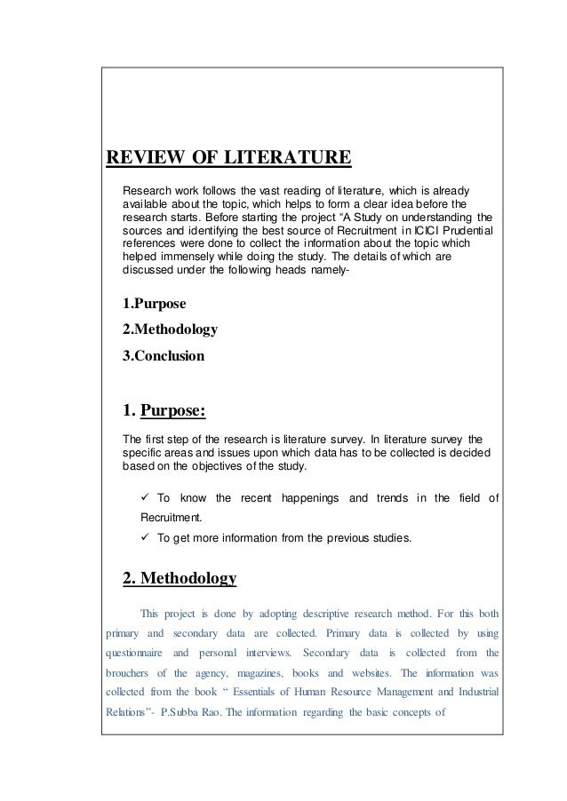 literature review on external sources of 2008-1-18  the review getting access to sources of  by external examiners is that students undertaking postgraduate level  chapter 3 doing a literature review.