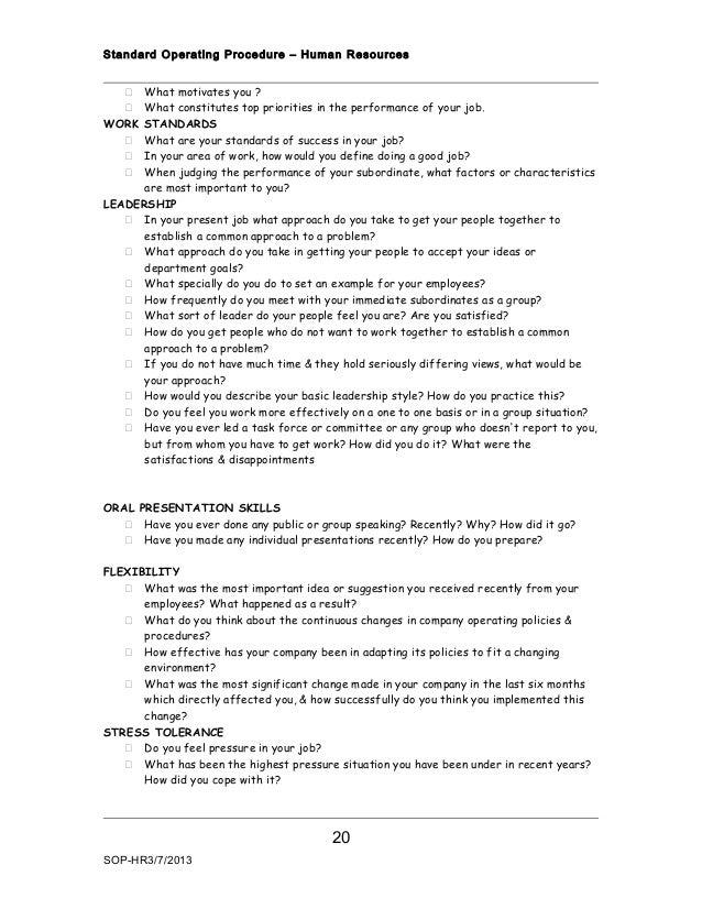 Recruitment interview procedure (1)