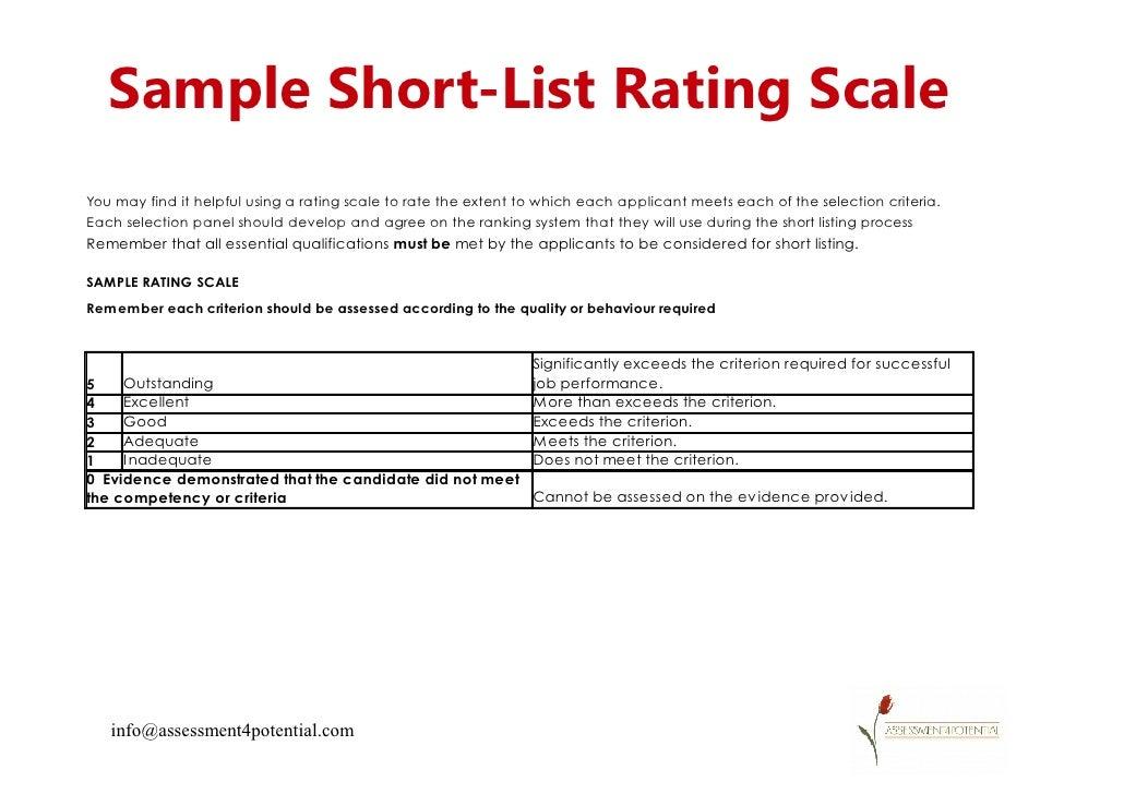 Resume Screening Matrix Template - Contegri.com