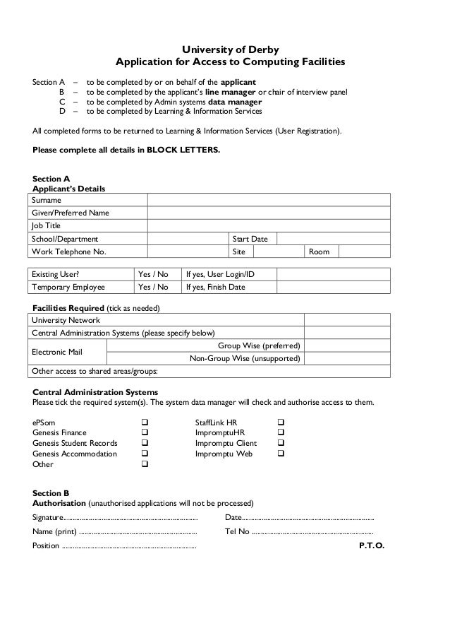 Recruitment policy procedures – Recruitment Request Form