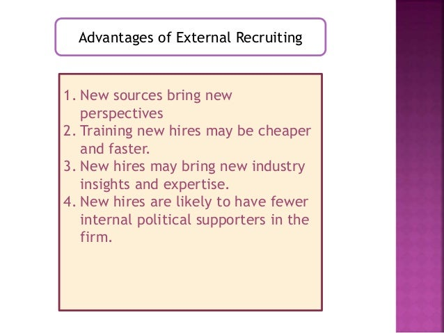 ten different sources of applicants that organizations turn to when recruiting We've shared ten simple recruiting tips to demystify the process and help you   machine is to turn every employee into a recruiter by soliciting referrals  top  candidates get the impression your organization cares about its people even   you're also providing a behavioral standard for other employees to.