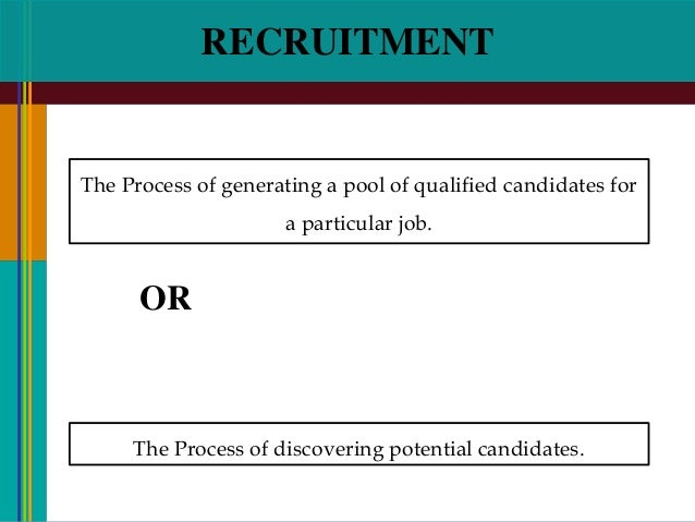 an analysis of the method and requirements of recruitment and selection of accountants Recruitment and selection guidance it is essential to be aware of the legal requirements that underpin the recruitment and selection process at least one other selection method should be used from the below list and you should utilise other members of the recruiting department to help.