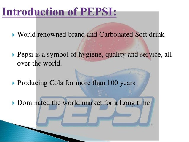 recruitment and selection procedure of pepsi