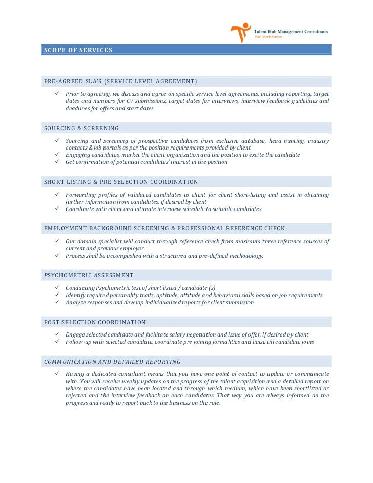 Recruitment proposal for Hiring proposal template