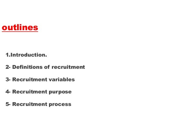 constraints on recruitment Problems (or constraints, bottlenecks etc) in recruiting isn't something to ignore because finding top talent is essential to the business the question becomes, how do you identify the constraint let's continue using the recruitment example and focus specifically on resumes and applications since talent.