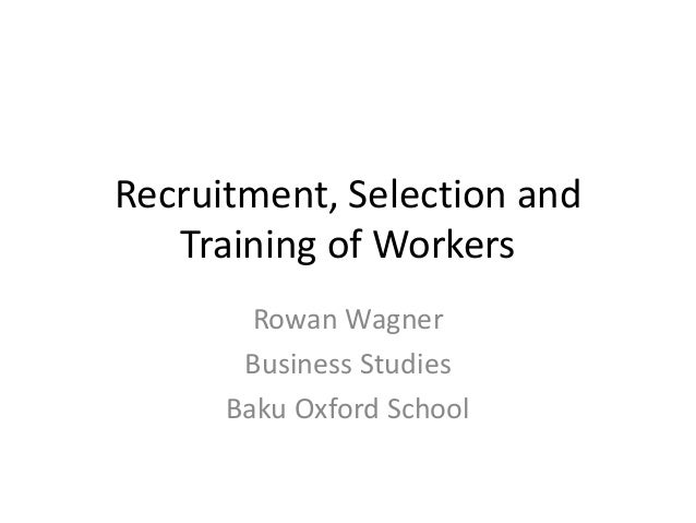 recruitment selection and training of life Chapter 4: recruitment and selection of police officers n 67 e very police department is faced with the necessity of recruiting and selecting personnel to fill the complex roles discussed in previous chapters.