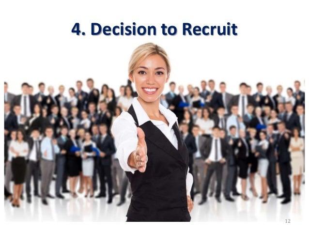 4. Decision to Recruit 12