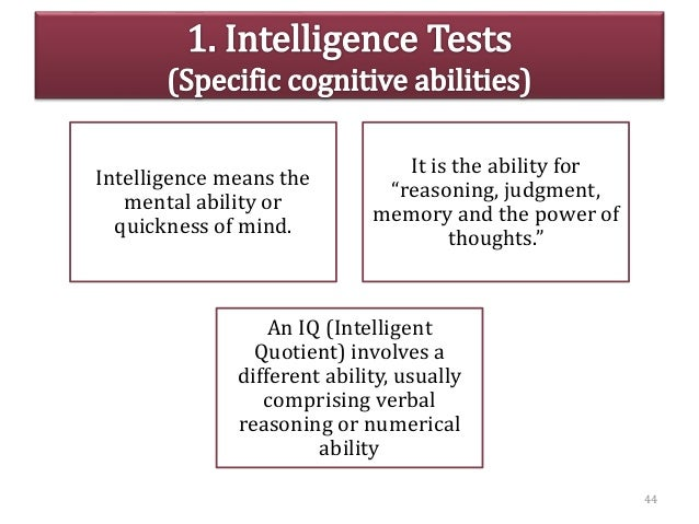 """Intelligence means the mental ability or quickness of mind. It is the ability for """"reasoning, judgment, memory and the pow..."""