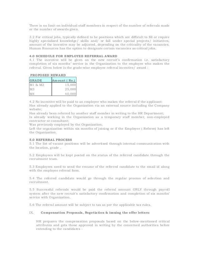 Recruitment selection process