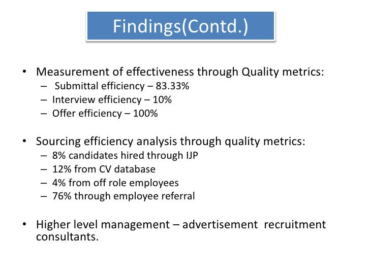 Other cost associated – referral amount.</li></ul>The cost for recruitment consultants –<br />8% of total CTC at M3 & belo...