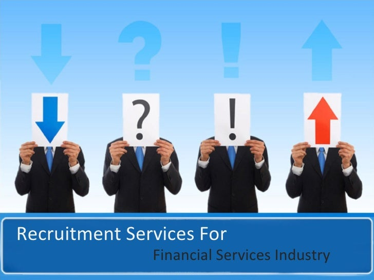 Recruitment Services For Financial Services Industry