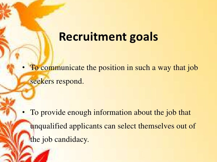 recruitment sources in hrp