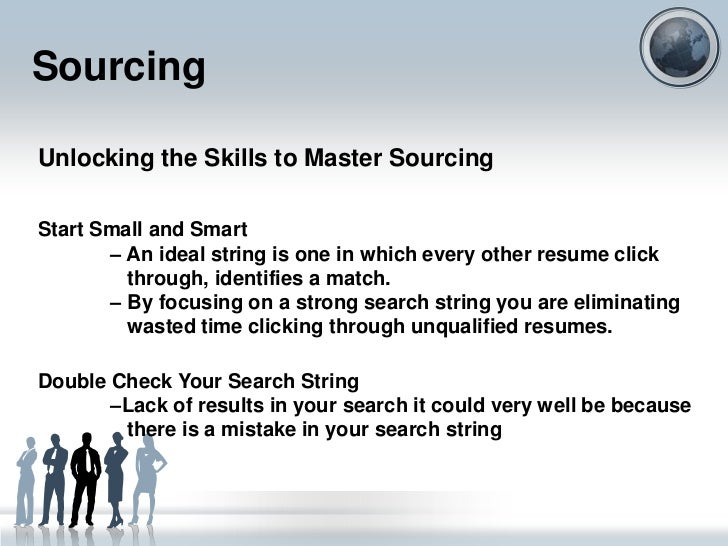 recruitment  sourcing and interview scheduling