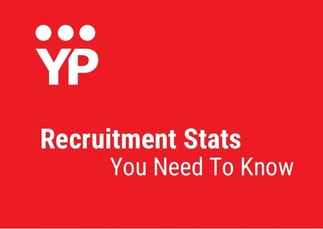 You Need To Know Recruitment Stats