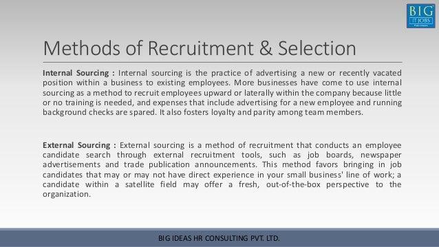 recruitment training manual by big it jobs rh slideshare net Customer Service Representative Retail Sales Representative
